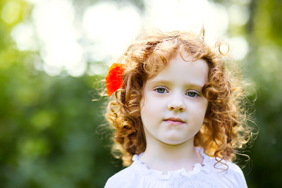 3-Year-Old Girl Gets Her Long Red Hair Back