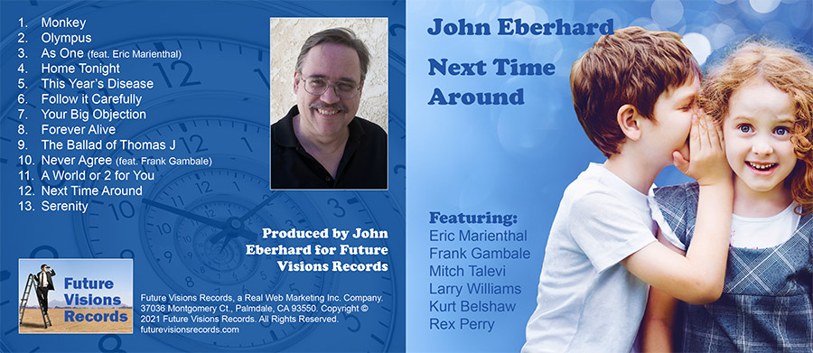 My New CD Release: Next Time Around